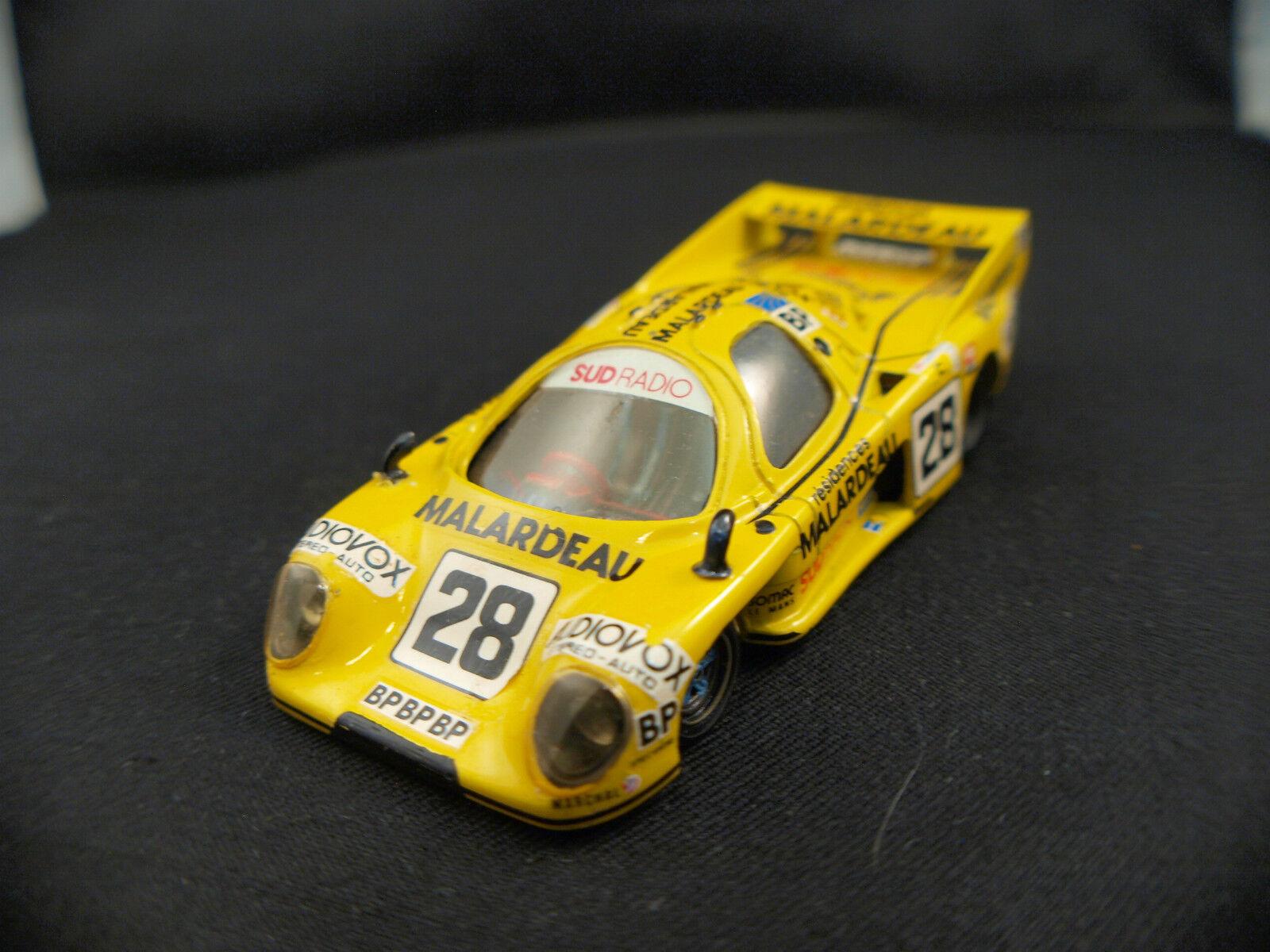 Team t Holds 379 le mans velford couhier vernet 1983 n º 28 1 43 assembled kit