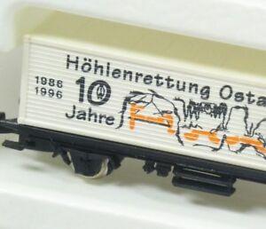 Z-Containerwagen-10-J-Hoehlenrettung-Ostalb-Filstal-Maerklin-Somo-NEU-OVP