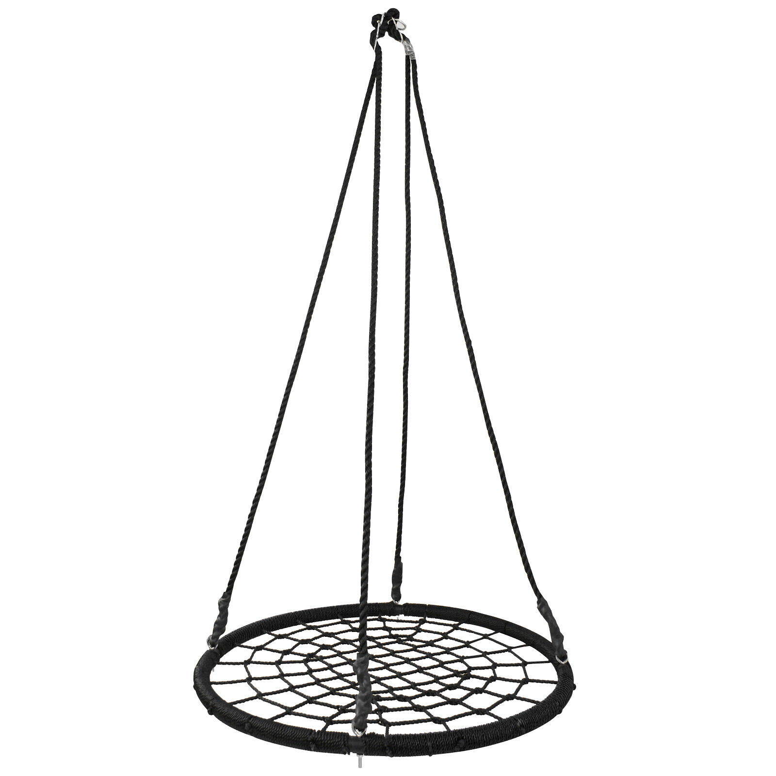 """Detachable 40"""" Spider Web Tree Net Swing Outdoor Toy For Mul"""