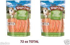 Waggin Train Chicken Jerky Tenders Dog Treats, 36 oz x 2 Bags (72 oz TOTAL) NEW