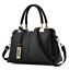 Women-Leather-Handbag-Ladies-Tote-Messenger-Shoulder-Purse-Satchel-Crossbody-Bag miniature 3