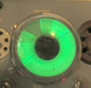 Ken-Rad magic-eye tube Z1358A.   Tests bright, see pictures.
