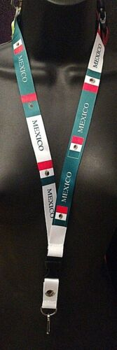 2pcs  Mexico Flag Lanyards//keychain New 2 different design set
