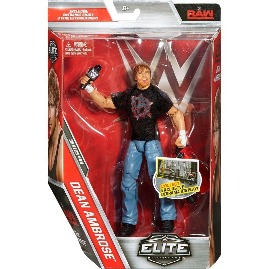 Official Mattel WWE - Elite Series 48 Dean AmbRosa (Raw) Wrestling Figure