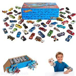 Hot Wheels Basic Toy Cars, Ultimate Starter Set 50 Pack Kids Play Vehicles, New