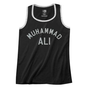 Muhammad-Ali-Men-039-s-Muscle-Vest-Boxing-Training-Logo-Ringer-Tank-Top-Champion
