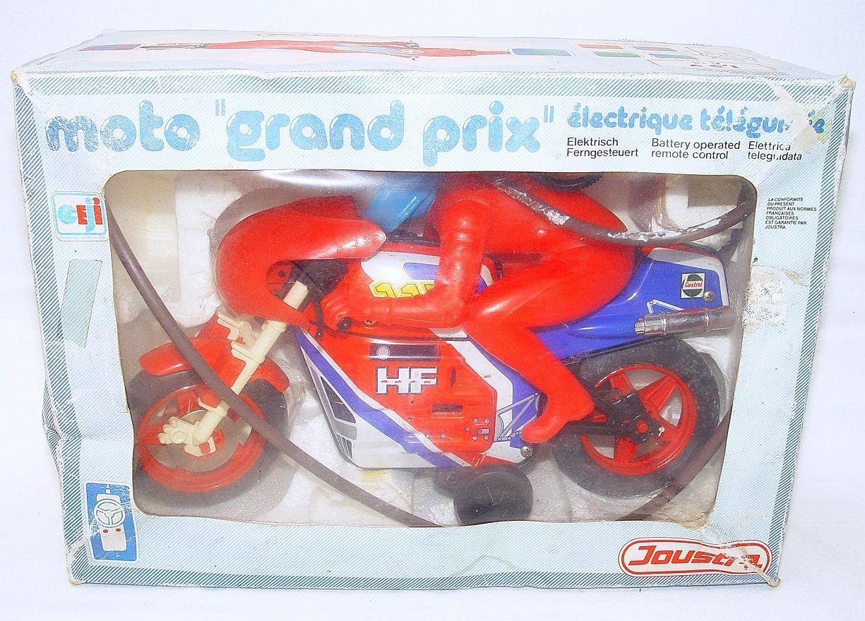 Joustra France Big HONDA GRAND PRIX MOTO GP MOTORCYCLE RC Battery Operated MB`70