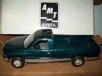 Amt/ertl 6195eo,1995 Dodge Ram 2500 Pickup Truck, Emerald Green/silver,
