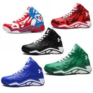 los nuevo pareja de hombres alto deportes al de aire superior Zapatos libre de moda baloncesto natv6v