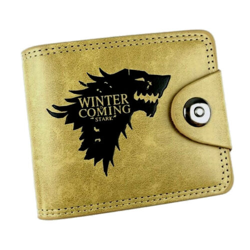 Game Of Thrones House Stark Winter Is Coming Dire Wolf Wallet Cards Coins Notes