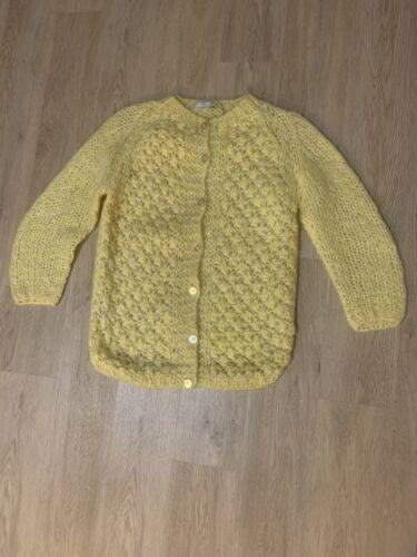 Vintage 1960's Italian Knit Sweater VINTAGE YELLOW