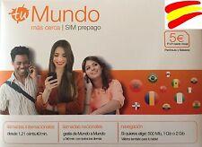 OFERTA Tarjeta SIM ORANGE MUNDO 4G PREPAGO 5 € SALDO, NAVEGA Y HABLA, GO EUROPA