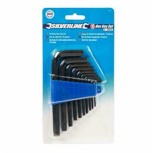 Silverline Hex Key Set 2 mm HK11 10 mm