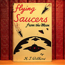 Flying Saucers from the Moon, H.J. Wilkins. First Edition. UFO.