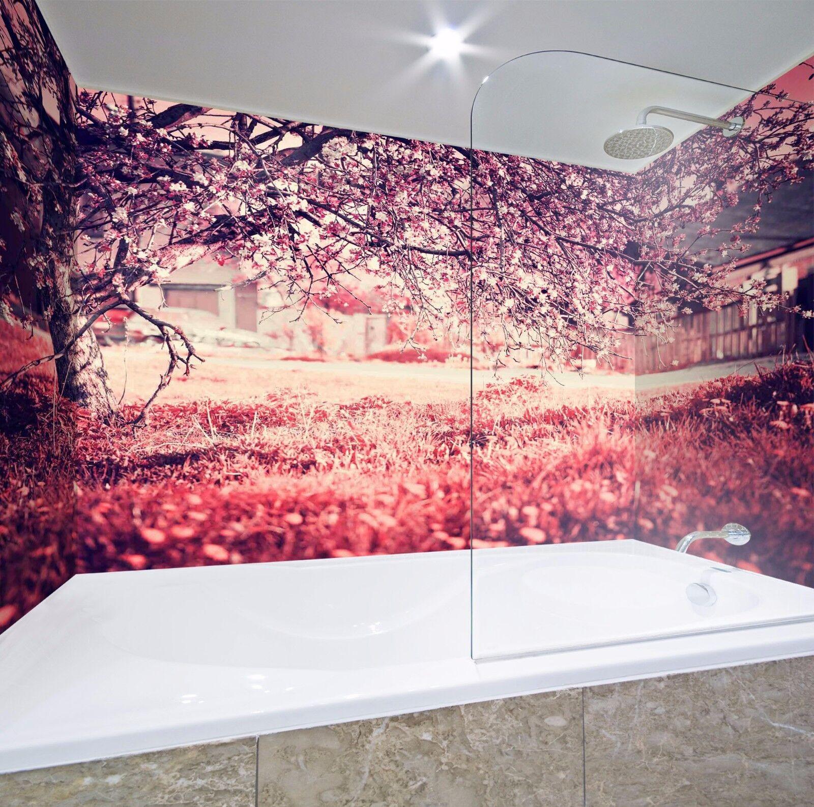 3D Autumn tree 634 WallPaper Bathroom Print Decal Wall Deco AJ WALLPAPER UK