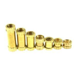 5-10-20-30pcs-Brass-Knurled-Nuts-Insert-Embedded-Nuts-M2-M2-5-M3-M4-M5-M6-M8
