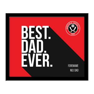 AgréAble Sheffield United F.c - Personnalisé Imprimé (meilleur? Jamais)-afficher Le Titre D'origine MatéRiaux De Haute Qualité