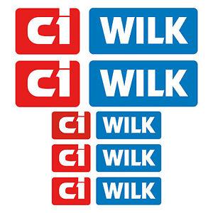 ci-WILK-aufkleber-sticker-wohnmobil-camper-wohnwagen-caravan-5-Stucke-Pieces