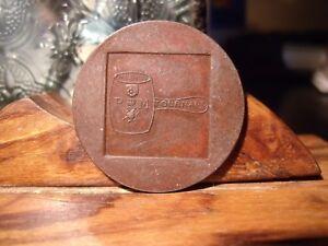 1879-1979 100 Years KNVB Royal Dutch Football Association UNC 30mm Brass KK6.1