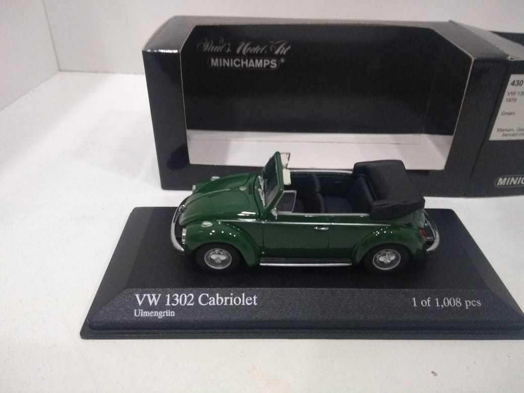 MINICHAMPS 430055041 VW 1302 cabriolet 1970 1 43 VOLKSWAGEN Beetle Fusca