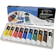 Winsor & Newton Artisan conjunto de pintura al óleo 10 X 37ml Tubo De Lona Arte Artista