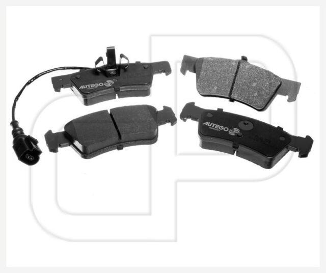 Bremsbeläge Bremsklötze Bremsbelag VW Touareg hinten | Hinterachse für PR: 1KE