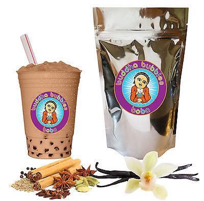 Vanilla Chai Latte Boba/ Bubble Tea Powder by Buddha Bubbles Boba (10 Ounces)