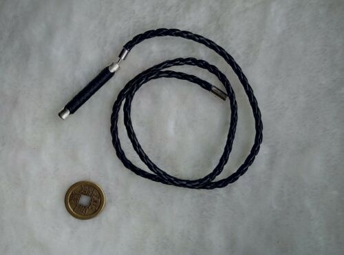 """1pc Figure Accessory Black leather whip For 12/"""" Male Female Figure Doll Toys"""
