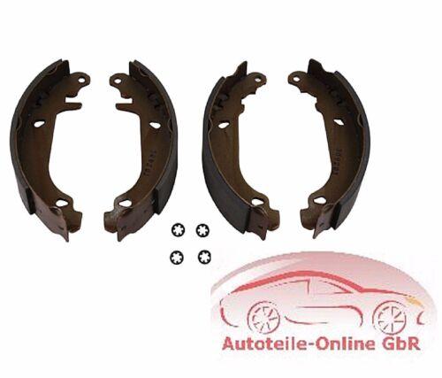 4 x mâchoires de frein Mâchoires de freins arrière Renault TWINGO