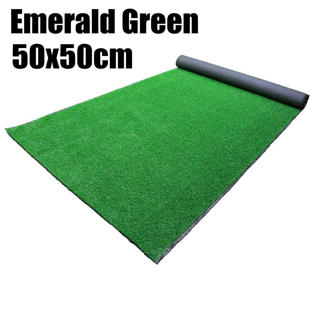 Red 200x400 cm Grass Rug Synthetic Lawn Basic