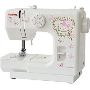 Janome Hello Kitty sewing machine electric sewing machine KT-35 Japan new.