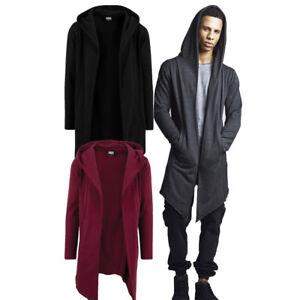 Urban-Classics-Herren-Cardigan-extra-lang-long-Jacke-Strickjacke-Umhang-oversize