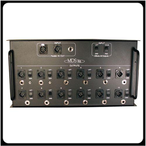 RapcoHorizon mds-112 12-output medios de comunicación, sistema sistema sistema de distribución, 1 en, 12 Envío Gratis 196373