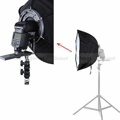 46cm Foldable Flash Softbox Diffuser Reflector for Canon 600EX 580EX 430EX 550EX