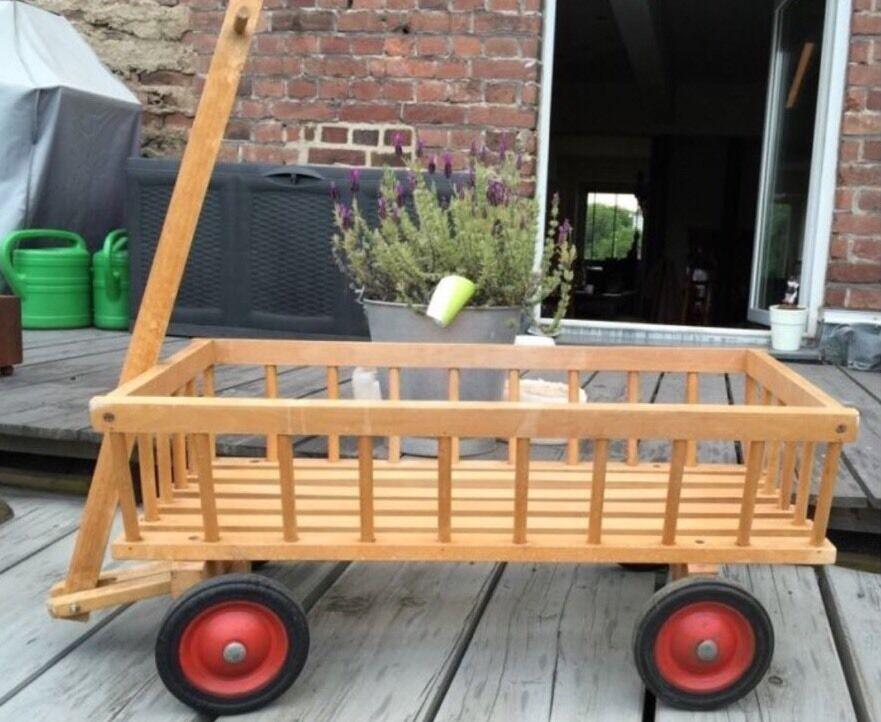 Bollerwagen Handwagen Transport Holzwagen Leiterwagen Leiterwagen Leiterwagen Kinderwagen 82884e