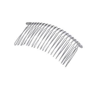 5-10PCS-Women-Metal-Hair-Clip-Combs-Iron-Wire-Hair-Clasp-Twist-Veil-Combs