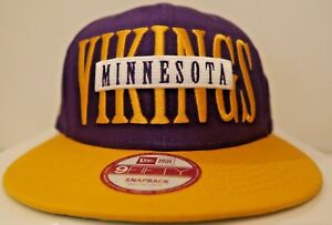 d365a7c679c Image is loading Minnesota-Vikings-New-Era-SNAP-9Fifty-Snapback-NFL-