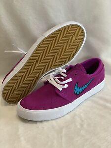Nike-SB-Zoom-Stefan-Janoski-RM-Vivid-Purple-AQ7475-500-White-Grateful-Dead-Sz-7
