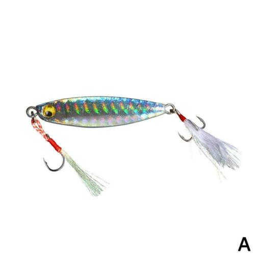 1x Micro Jigs Butterfly Metal Jig Fishing Lure 60g Slow Lures Jigging Snapping