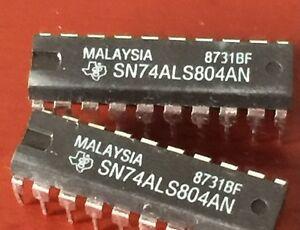 1PCS SN74ALS804AN HEX 2-INPUT NAND DRIVERS DIP20