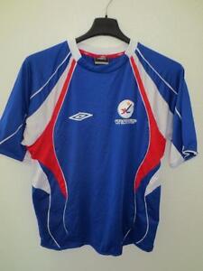 Maillot-Equipe-de-FRANCE-Pro-Beach-Soccer-UMBRO-shirt-S