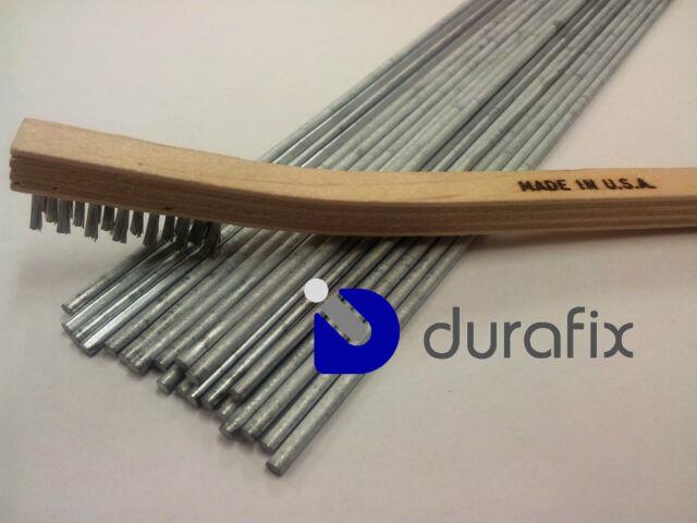 DURAFIX® - 20 Verghette per saldare alluminio + 1 Spazzola inox
