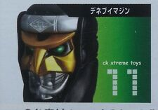 Masked Kamen Rider Den-O Imagin Deneb Mask Head Helmet Display Stand 1/6 Scale