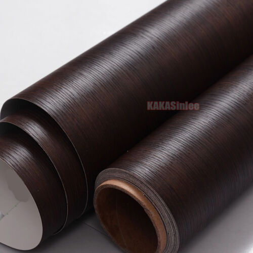 Hot Matte Wood Grain Textured Vinyl Wrap Sticker Car Home Decors Decal #9728 AB