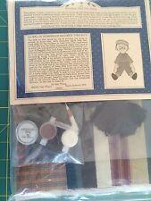 "Gail Wilson Kit 6 Raggedy Type Boy 15"" Historical Folk Doll Kit"