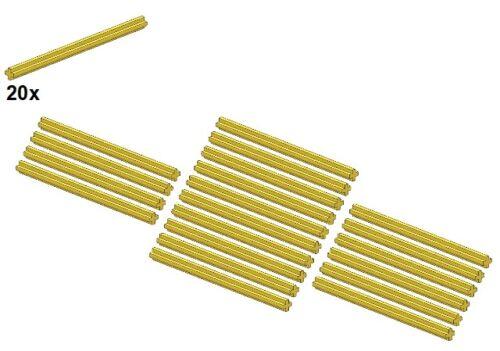Länge9 LEGO® Gelb Axles Technic Small Parts - Achse 20Stk 60485-03