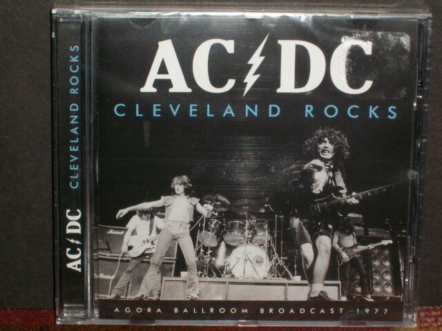 AC/DC - Cleveland Rocks CD SEALED Agora '77 broadcast