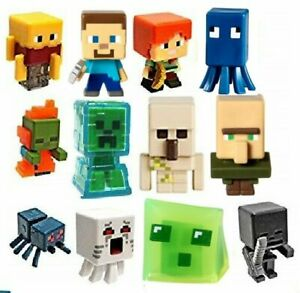 Details About Minecraft Mini Figure Chest 12 Figures To Choose From Rare Free Gifts Included
