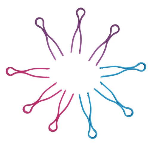 60x Colourful Bobbin Thread Clips Fadenspule Clips für die Befestigung von