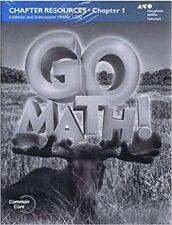 California Go Math Grade K Kindergarten Common Core Reteach